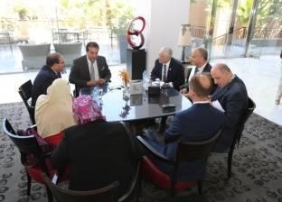 عبدالغفار يبحث التعاون العلمي مع العراق والأردن على هامش قمة الابتكار