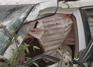 مباحث الجيزة تكشف أسباب سقوط سيارة لاعبي المنصورية في ترعة الزمر