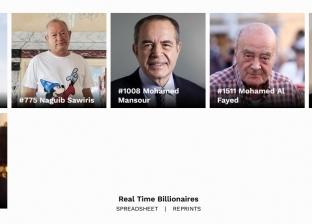 """""""القوس"""" يتصدر.. أبراج 4 من أبرز أثرياء مصر في قائمة فوربس 2019"""