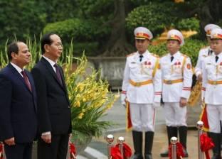 """رئيس """"فيتنام"""" يصل الأقصر لزيارة المناطق السياحية والآثرية"""