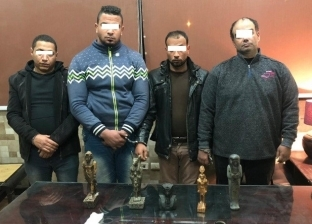 «الجريمة الضاحكة»..ضبط 4 تجار آثار خطفوا طبيبا لإجباره على شراء تماثيل