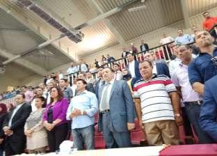 بالصور| محافظ دمياط ووزير الشباب يزوران رأس البر للاحتفال بانتصارات أكتوبر