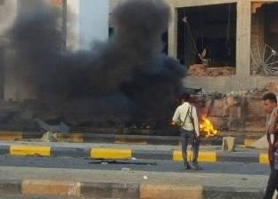 عاجل| تحركات عسكرية وتجدد الاشتباكات المسلحة بمطار طرابلس