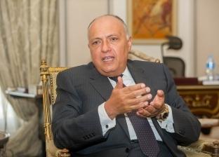 وزير الخارجية يكشف شروط مصر لإقامة علاقات مع إيران