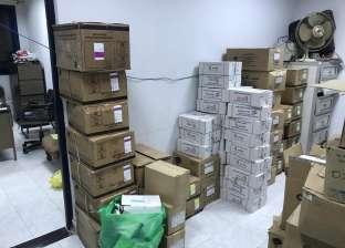 ضبط مكتب مستلزمات طبية يبيع أدوية ضمن جدول المخدرات للمواطنين بالفيوم