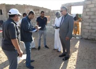 بالصور| رفع أسقف لـ70 منزلا بدويا في أبورديس بجنوب سيناء