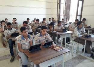 """""""تعليم الفيوم"""": 94% من مدارس الفيوم يؤدون امتحان """"الأحياء"""" إلكترونيا"""