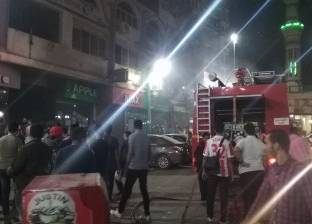 السيطرة على حريق بمحل أحذية في أسيوط
