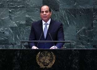 السيسي: لا مجال لإضاعة الوقت في سجال دون حصول الفلسطينيين على حقوقهم