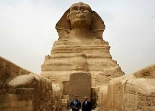 """مدير """"آثار أسوان"""": التمثال الجديد لـ""""أبو الهول"""" يعود للعصر البطلمي"""