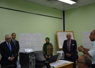 «شوقى»: القيادة السياسية مهتمة بتقديم خدمة تعليمية تساير الأنظمة المتطورة
