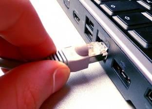 ضبط شخص لتوصيله الانترنت بشكل غير شرعي بالعبور