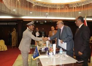 مدير أمن دمياط يكرم الضباط والأفراد المتميزين
