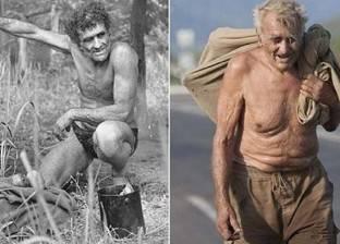 """60 عاما يصطاد التماسيح والأسود بيديه.. معلومات عن """"طرزان روسيا"""""""