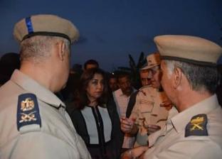 بالصور| محافظ دمياط تقدم واجب العزاء لأسرة الشهيد الجندي محمد سمير