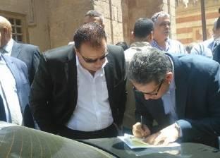أيمن سعيد معاونا لوزير الآثار لشؤون المواقع الأثرية