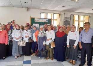 """البحوث الطبية بجامعة الإسكندرية ينظم يوم تعريفي لمبادرة """"سرطان الثدي"""""""