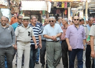 بالصور  إزالة 54 إشغالا وتنفيذ 3 قرارات غلق إداري في كفر الشيخ