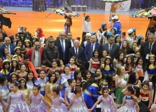 بالصور| افتتاح بطولة البحر المتوسط لكرة اليد في بورسعيد