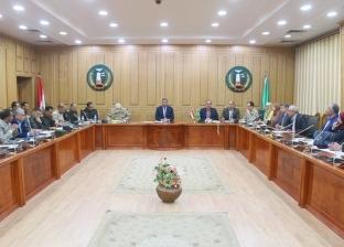 المنوفية تناقش الاستعدادات النهائية للاستفتاء على التعديلات الدستورية