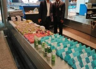إحباط تهريب أدوات تجميل بنصف مليون جنيه عبر مطار القاهرة