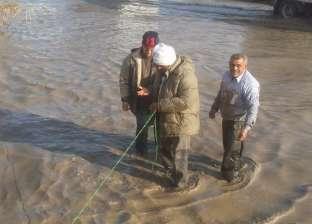 تطوير محطة صرف غرب النوبارية للمرة الرابعة في الإسكندرية