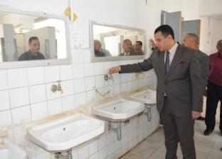 بالصور| نائب رئيس جامعة أسيوط يتفقد المدينة الجامعية للطلاب