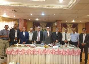 رئيس جامعة بنها يشارك أعضاء هيئة التدريس حفل إفطار رمضان