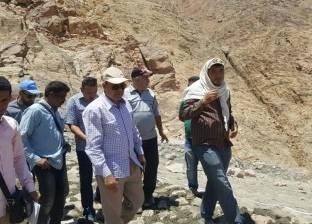 13.5 مليون جنيه تكلفة حماية وادي أسلاف بسانت كاترين من مخاطر السيول