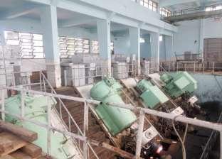 """رئيس """"ميكانيكا الري"""": استيعاب كميات المياه الزائدة في مصرف فارسكور"""