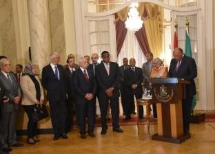 شكري يؤكد عمق العلاقات التاريخية بين مصر والأشقاء الأفارقة