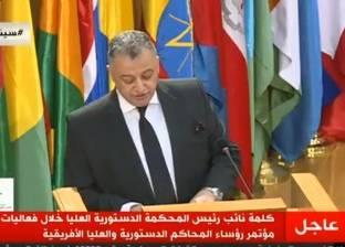 """نائب رئيس """"الدستورية"""": العلاقات بين مصر ودول إفريقيا تاريخية ووثيقة"""