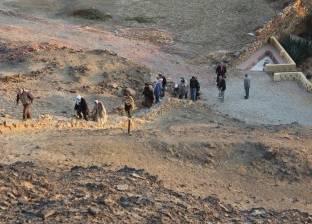 """""""الوطن"""" ترصد أبرز المعالم السياحية بمنطقة الواحات في الصحراء الغربية"""