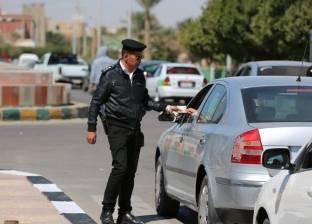 الإدارة العامة للمرور تضبط 38422 مخالفة مرورية في يوم واحد