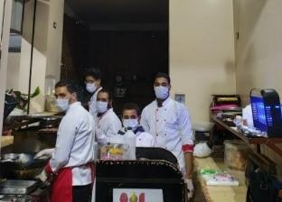 """مطعم """"حواوشي"""" يثير الجدل بسبب اللحمة: كورونا تنتقل من الخفافيش مش الكلاب"""
