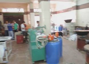 ضبط 5 آلاف عبوة حلوى داخل مصنع دون ترخيص في طنطا