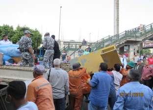 بالصور| حملات انضباطية لمديرية أمن القاهرة بمدن وأحياء العاصمة