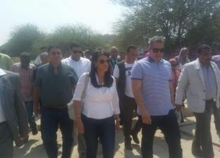 العناني والمشاط وإبراهيم يتفقدون المعالم السياحية بمحافظة أسوان