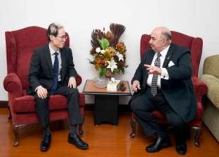 نائب رئيس القناة لسفير اليابان: مصر الأولى إفريقيا في جذب الاستثمارات