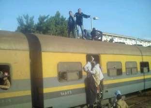 مصرع شاب سقط أسفل قطار بيلا في بلقاس بالدقهلية