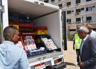 تشغيل 3 منافذ بيع متحركة لمبادرة «بيع الدواجن» في أسوان