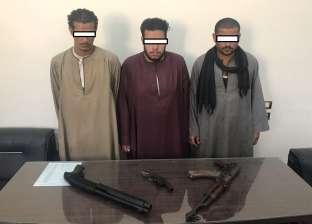 ضبط 6 أشخاص بحوزتهم أسلحة نارية بدون ترخيص بأسيوط