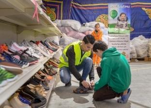 الأورمان توزع ملابس جديدة على الأطفال الأيتام في سوهاج