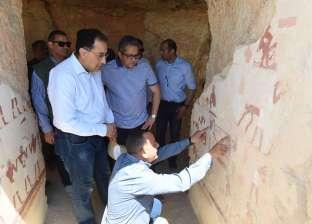 «هدية للعالم».. رئيس الوزراء يفتتح أكبر مقبرة لـ«حامل أختام مصر العليا» فى البر الغربى بالأقصر