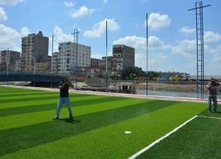 """""""ملاعب كرة القدم"""".. وسيلة محافظة الإسكندرية لتطوير محور """"المحمودية"""""""