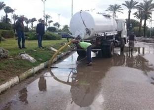 سقوط أمطار خفيفة على محافظة الدقهلية وانخفاض شديد في درجات الحرارة