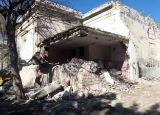 """""""وسط الإسكندرية"""" يشن حملة لإزالة التعديات بجوار المتحف الروماني الجديد"""
