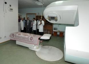 """محافظ الإسكندرية يتفقد مركز """"أيادى المستقبل"""" لعلاج الأورام بالمجان"""