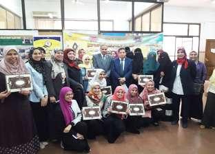 """المحرصاوي يكرم طالبات """"طب أسنان الأزهر"""" المتميزات على مستوى الجامعات"""