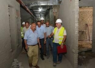 تواصل أعمال الإنشاءات الجديدة بمستشفى شفاء الأورمان بالأقصر